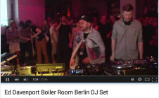 Ed Davenport Boilerroom Berlin – See him 17 July w. Pulse #8