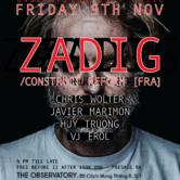 Heart Beat Presents Zadig // Construct Reform, Tresor [FRA]